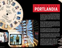 Portland Family Magazine Spreads